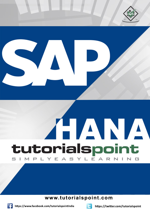SAP HANA Tutorial in PDF - Tutorialspoint