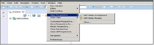 SAP HANA Studio Features