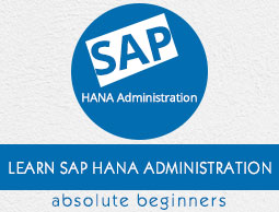 SAP HANA Administration Tutorial
