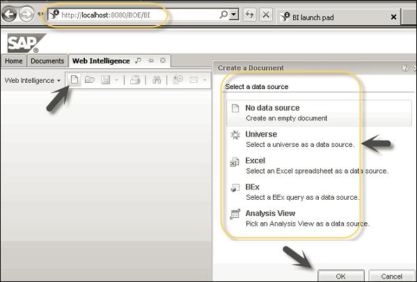 SAP HANA BI Development - Quick Guide - Tutorialspoint