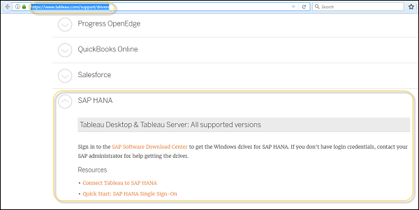 Connecting HANA with Other BI Tools