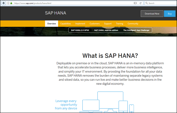 SAP HANA BI Development - Quick Guide