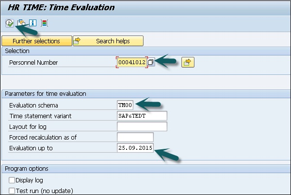 HR Time Evaluation