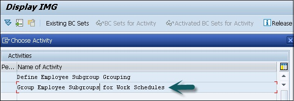 Select Group Employee Subgroups