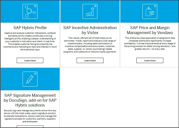 Sap hybris quick guide cross functional services fandeluxe Image collections
