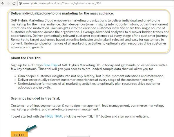 SAP Hybris - Quick Guide - Tutorialspoint