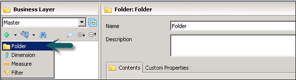 Add folder Business Layer