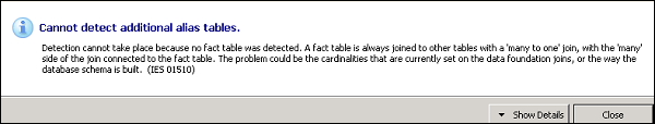 Detect Table Alias