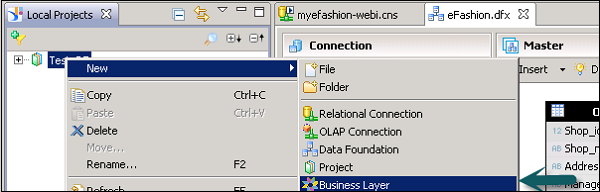 OLAP Business Layer