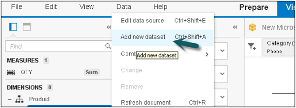 Adding Datasets Step1