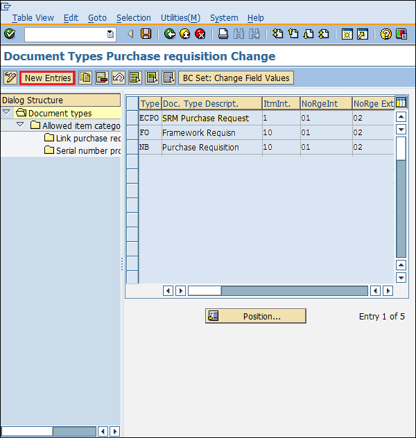 SAP MM - Configuration