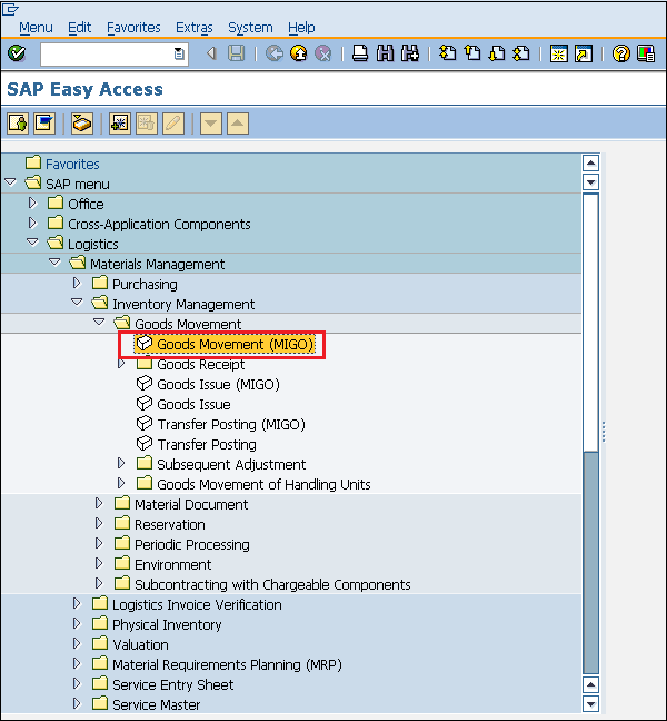 SAP MM - Procurement Cycle - Tutorialspoint