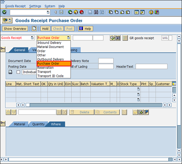 SAP MM - Inventory Management - Tutorialspoint