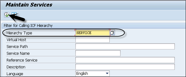 SAP NetWeaver - Service Configuration - Tutorialspoint