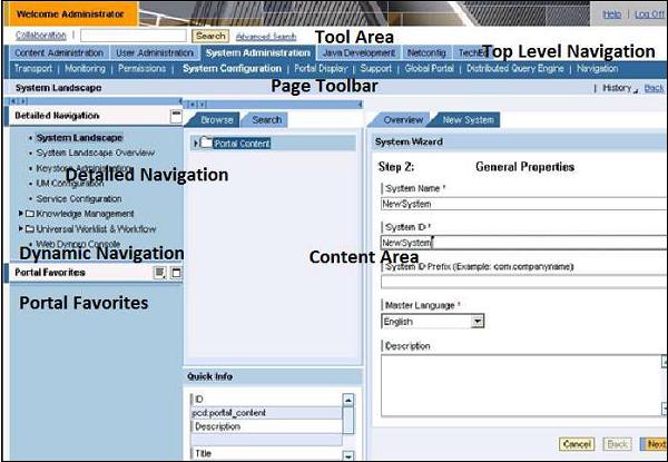 SAP NetWeaver - Portal - Tutorialspoint