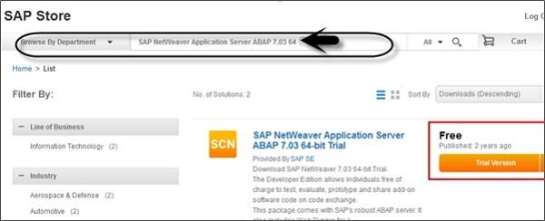 SAP NetWeaver - Quick Guide