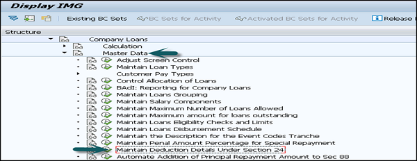 Sap payroll quick guide maintain deduction details sciox Choice Image