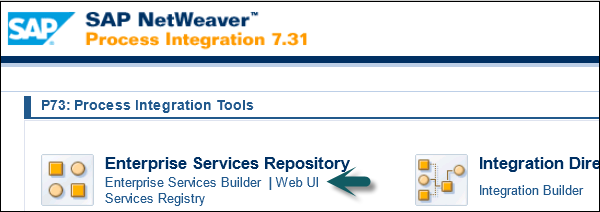 Enterprise Service Repository