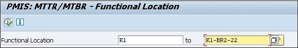 Functional Location Tab