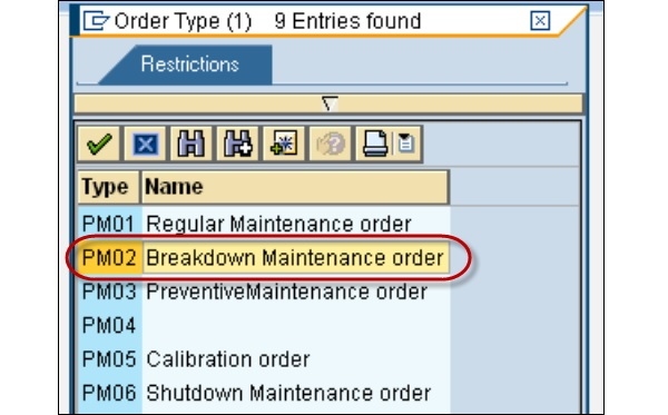 SAP PM - Quick Guide