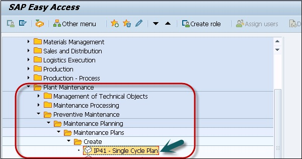 SAP PM Maintenance Planning
