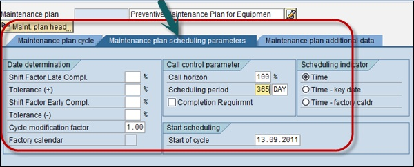 SAP PM - Maintenance Planning - Tutorialspoint