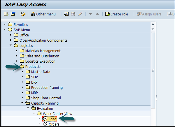 Sap table to view work order