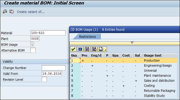 SAP PP - Master Data - Tutorialspoint