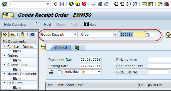 SAP PP - Goods Receipt - Tutorialspoint