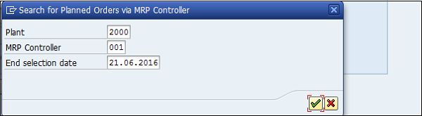 Orders MRP Controller