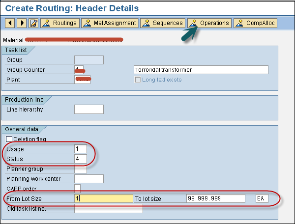 Routing Header Details