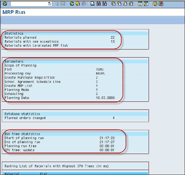 Sap mm consumption based mrp: technical reference and learning.