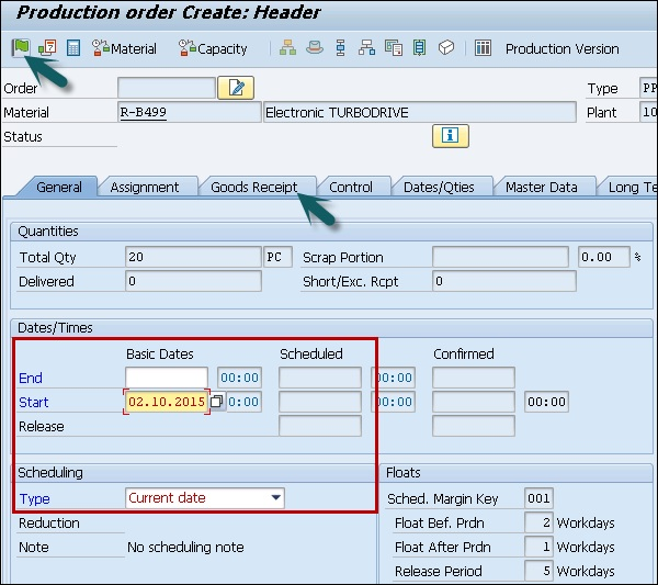 SAP QM - Final Inspection - Tutorialspoint