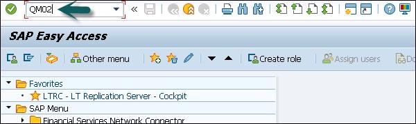 SAP QM - Quality Notification