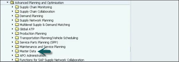 Advanced Planning and Optimization SCM