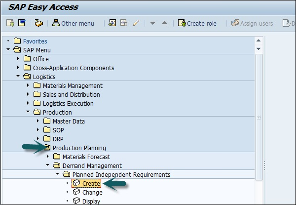 Sap Scm Creating Pir