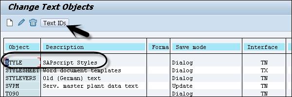 SAP Scripts - Quick Guide - Tutorialspoint