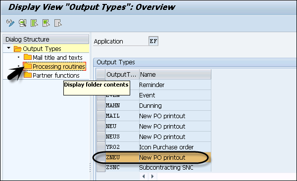 SAP Scripts - Output Types - Tutorialspoint