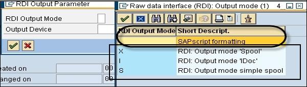 SAP Scripts - Raw Data Interface - Tutorialspoint