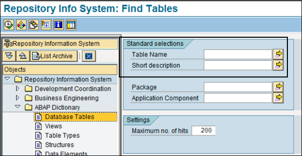SAP Scripts - Raw Data Interface - Tutorialspoint