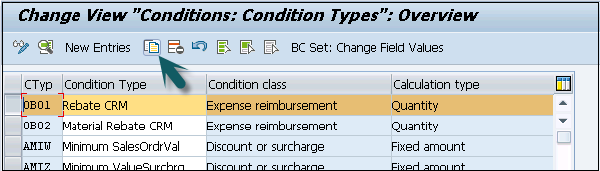 Condition Types