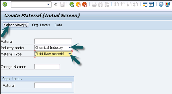 SAP SD - Create MM for Sales View - Tutorialspoint