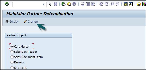 SAP SD - Create Partner Function - Tutorialspoint