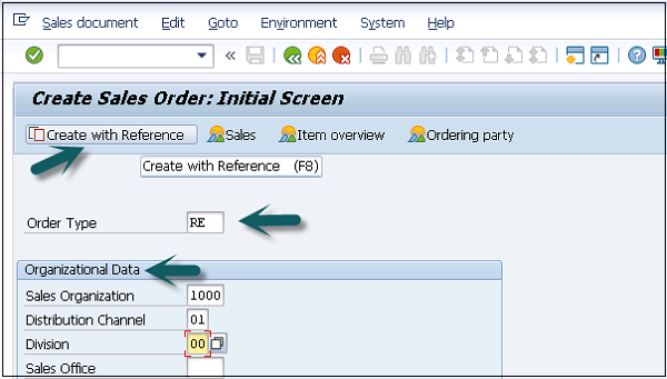 SAP SD - Free of Charge Deliveries - Tutorialspoint