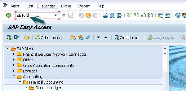 SAP Simple Finance - Display Financial Tables - Tutorialspoint