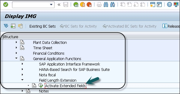 SAP Simple Logistics - Simplification Item
