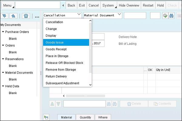 SAP Simple Logistics Execute Discrete Production