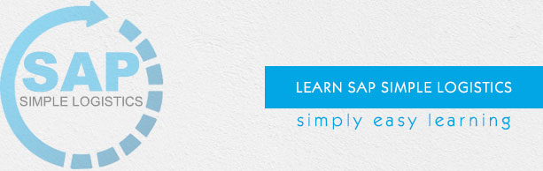 SAP Simple Logistics Tutorial - Tutorialspoint