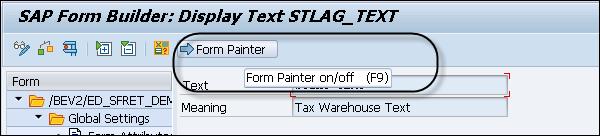 SAP Smart Forms - Form Builder