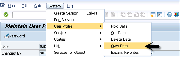 how to delete personal number in action type in sap